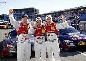 Starker Audi-Auftritt beim DTM-Finale
