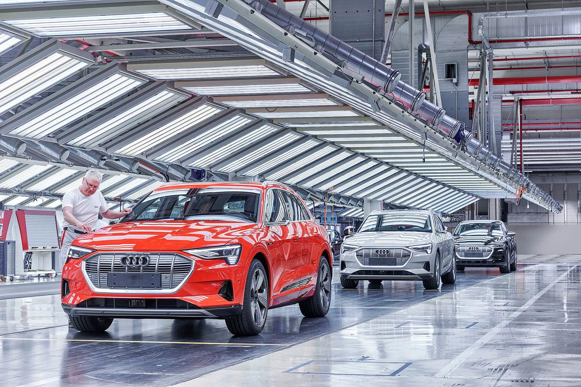 Resultado de imagem para Audi e-Tron belgium