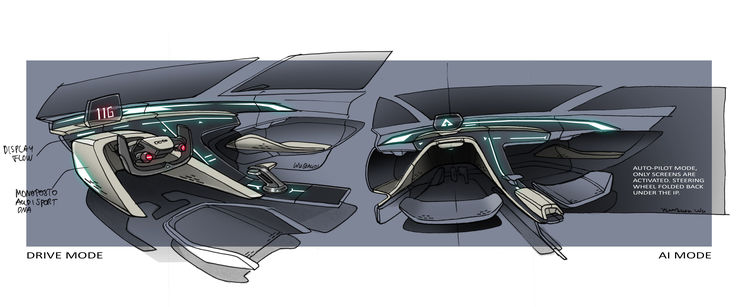 Audi designs first concept car for an animated film