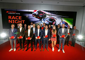 Audi Sport customer racing Race Night 2018