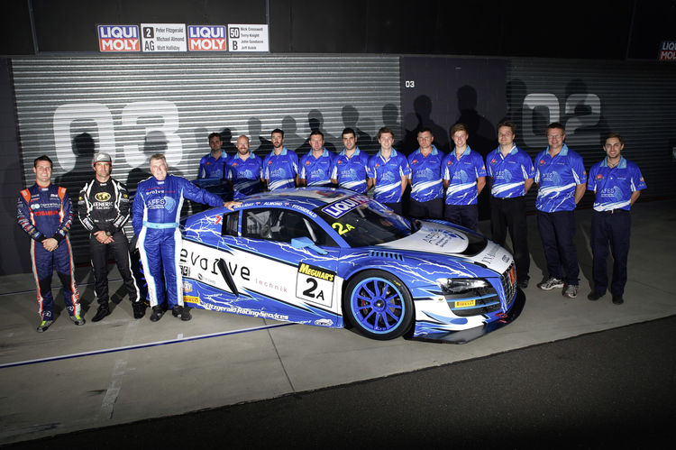 Audi R8 LMS ultra on title chase in Australia