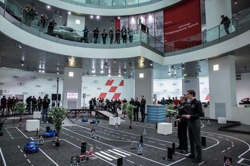 Audi Autonomous Driving Cup 2018