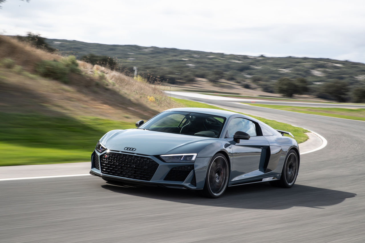The New Audi R8 Updated Dynamics For The High Performance Sports Car Audi Mediacenter