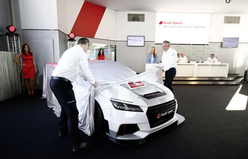 World Premiere Audi Sport TT Cup