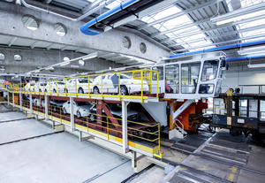 Audi Logistics: 30 years of the car loading platform