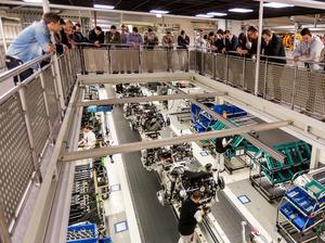 Audi macht Logistik erlebbar