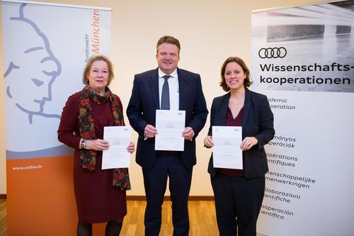 Audi stiftet Juniorprofessur an der Universität der Bundeswehr München