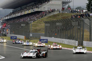 Audi wahrt in Japan alle Chancen im WEC-Titelkampf