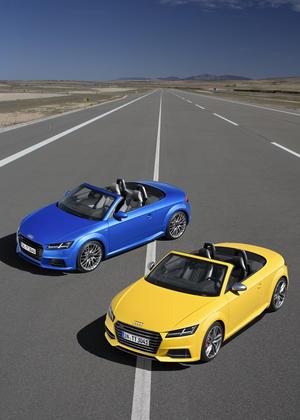Audi TTS Roadster, Audi TT Roadster