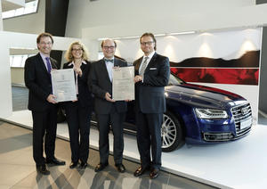 Audi stiftet Professur für Operations Management und Prozessinnovation
