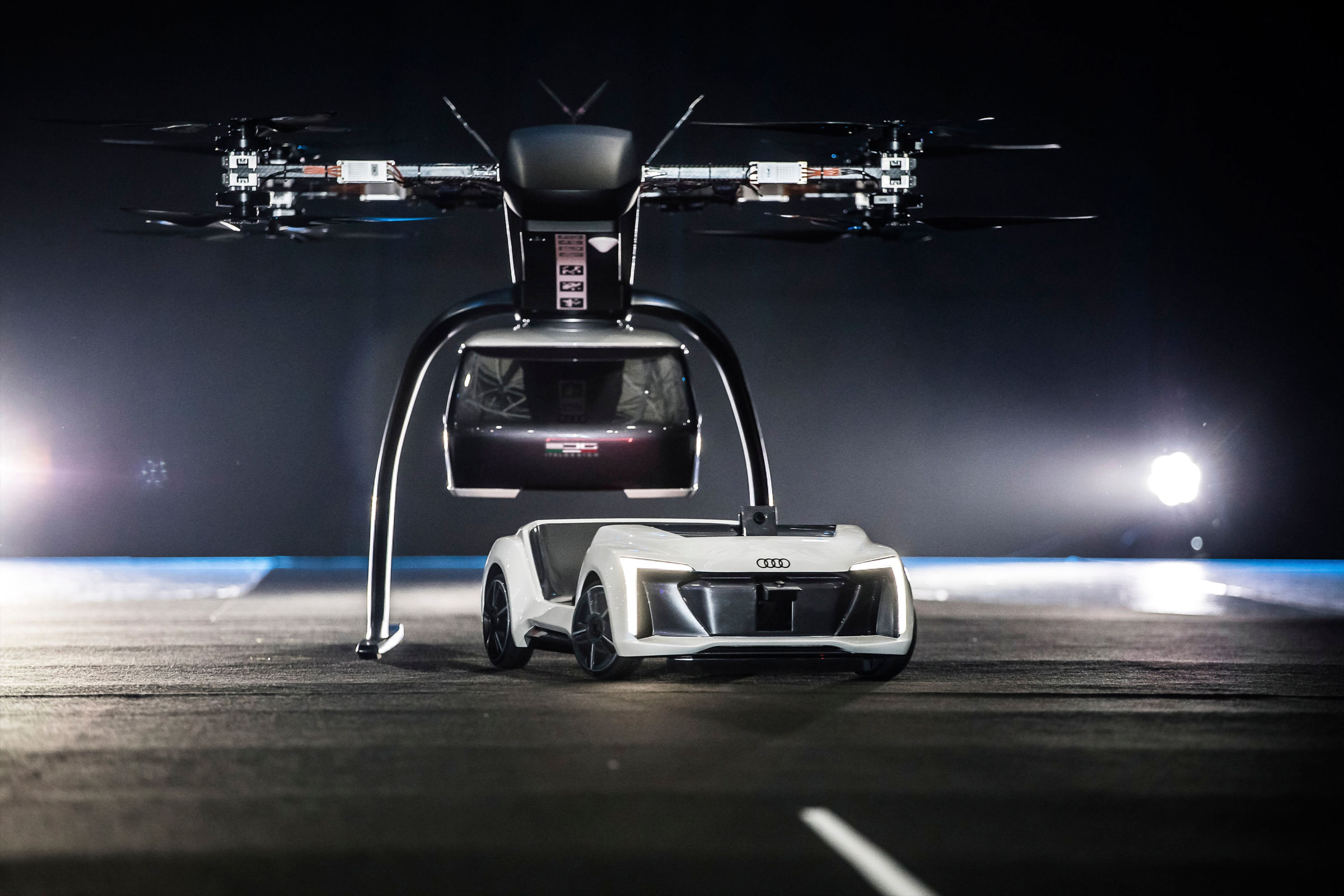 Audi Airbus And Italdesign Test Flying Taxi Concept Audi MediaCenter
