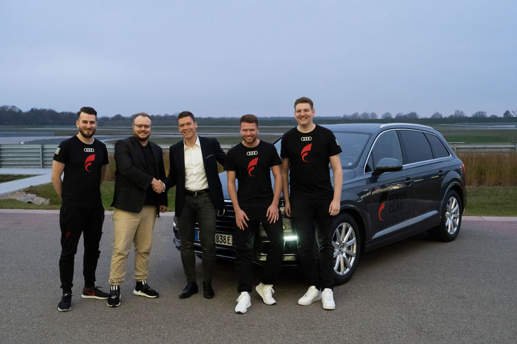 Audi is the new cooperationpartner of the FOKUS Clan