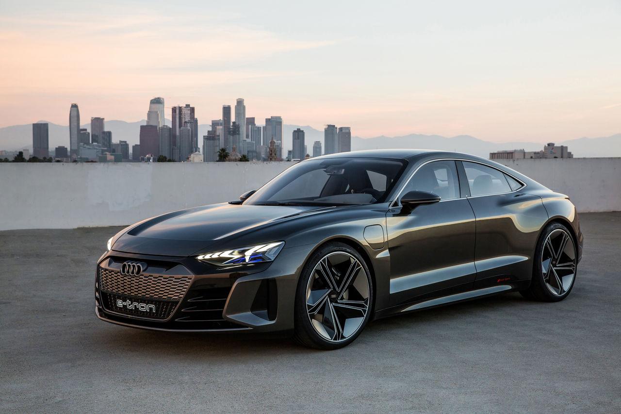 The Audi E Tron Gt Concept Audi Mediacenter
