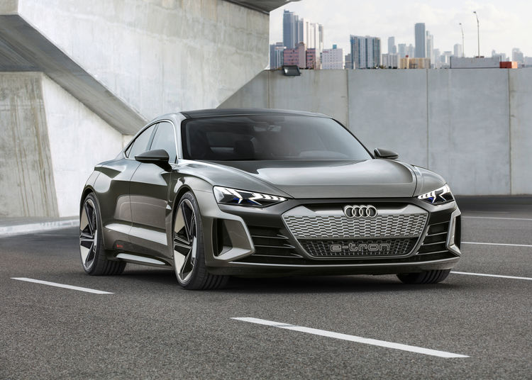 New Star In The Movie Capital The Audi E Tron Gt Concept Audi