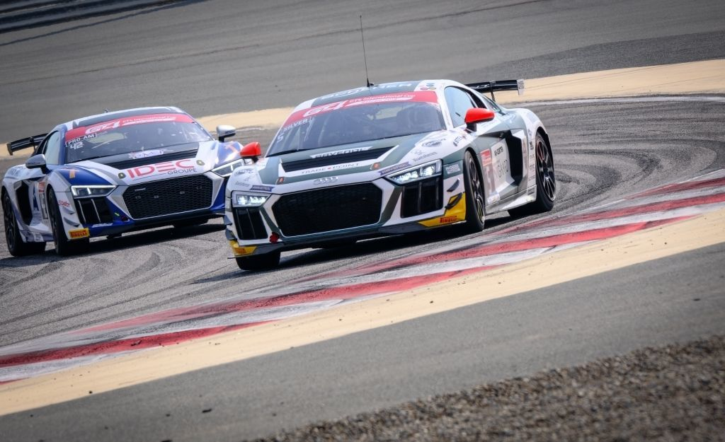 Position two for Audi Sport in GT4 International Cup