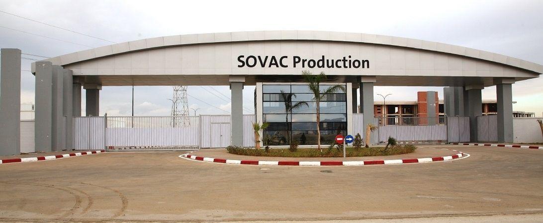 Audi production in Algeria