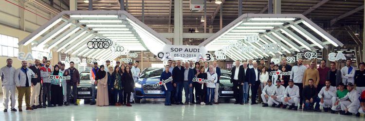 Audi production in Algeria