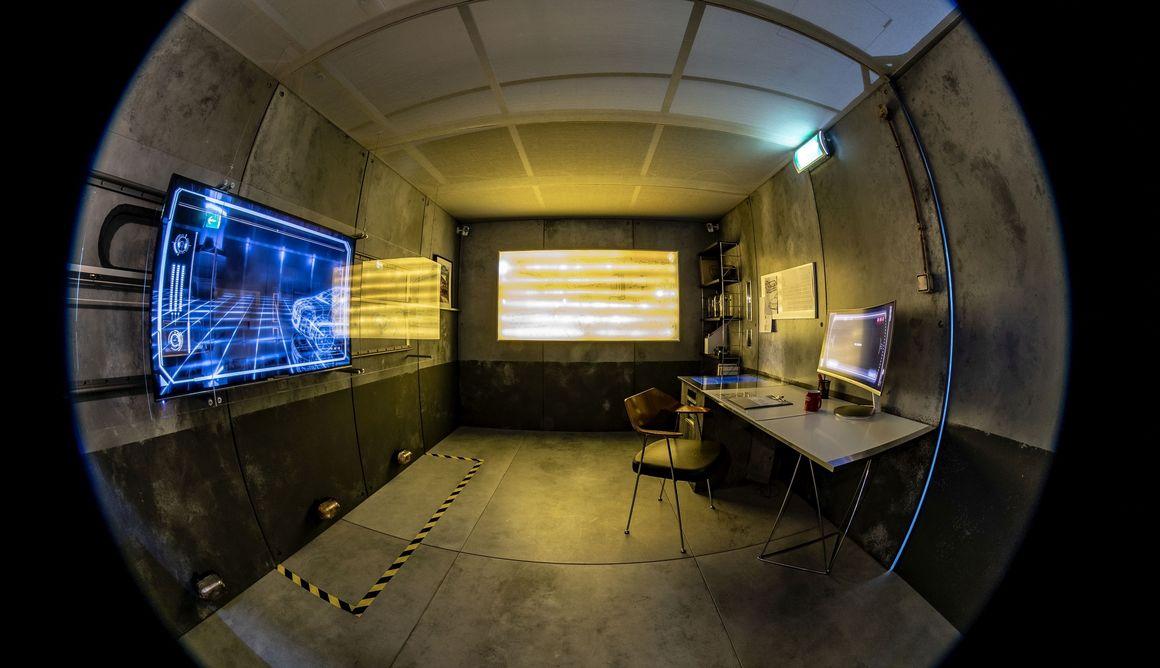 Audi e-tron, Escape Room