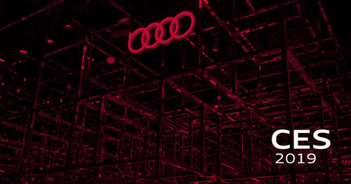 Audi at CES 2019