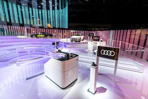 Audi at the Consumer Electronics Show 2019 in Las Vegas