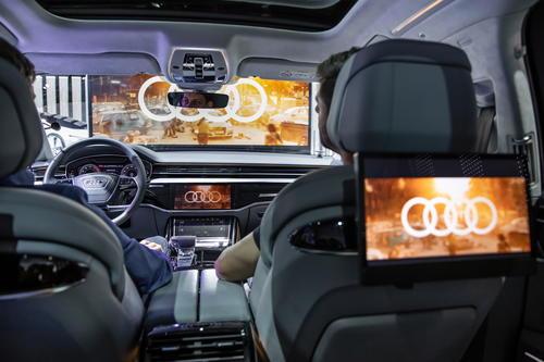 Audi at the CES Las Vegas 2019