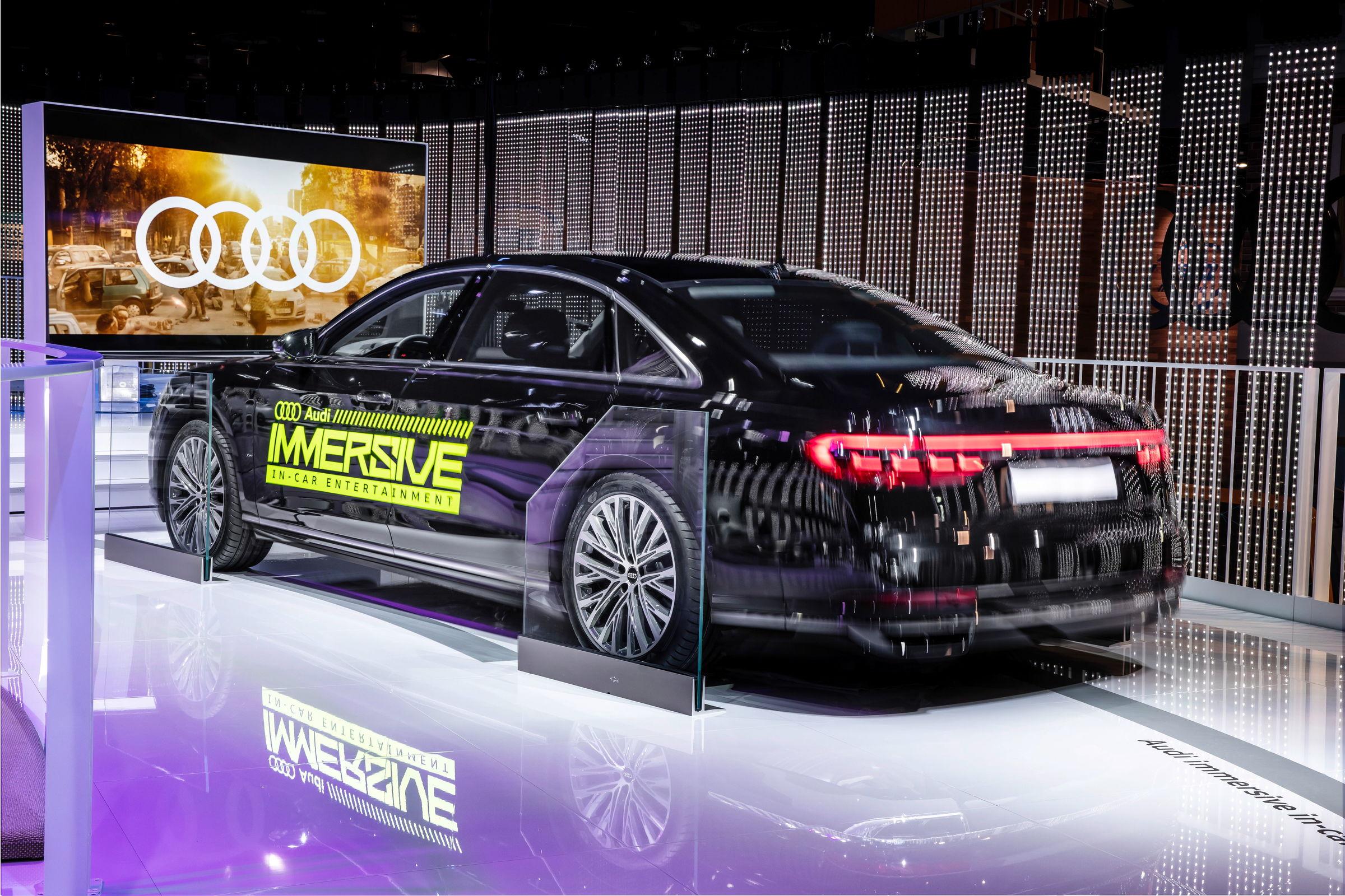 Audi Immersive In Car Entertainment Audi Mediacenter