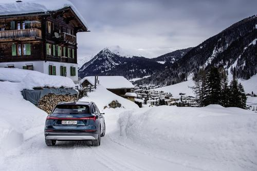 Audi electrifies the World Economic Forum in Davos