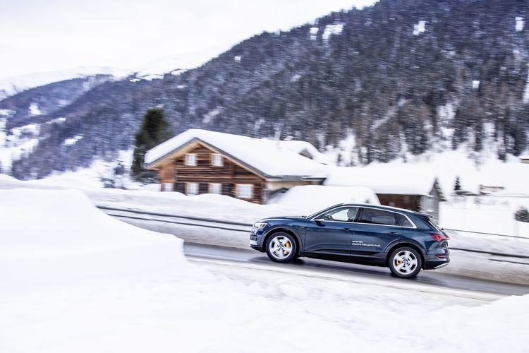 Audi elektrisiert Weltwirtschaftsforum in Davos