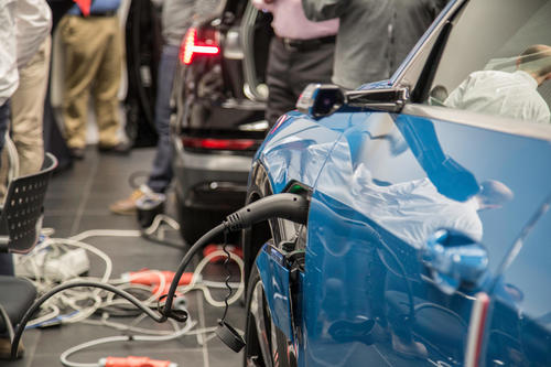 """Plugfest E-Mobility"" at Audi Brussels"