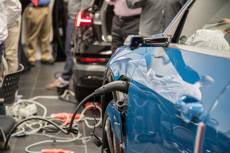 """""""Plugfest E-Mobility"""" at Audi Brussels"""