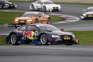 Audi am Lausitzring in Startreihe eins