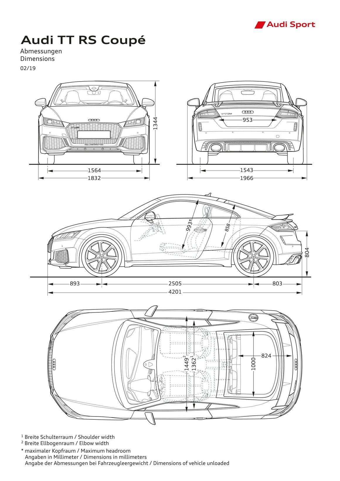 Audi Tt Rs Coupe Audi Mediacenter