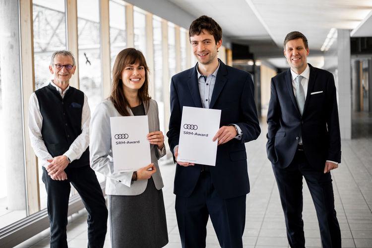 Zukunftslösungen für Ressourcenmanagement: Audi-Umweltstiftung prämiert Nachwuchsforscher
