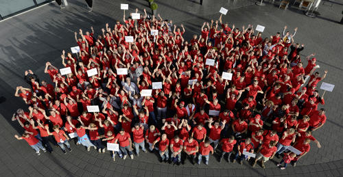 Gutes tun beim dritten Audi-Freiwilligentag in Neckarsulm