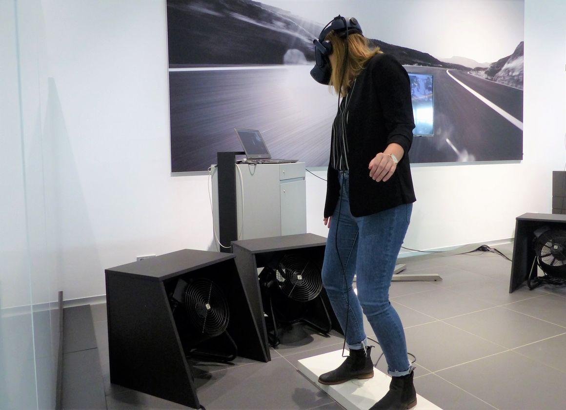 Elektrisierendes VR-Erlebnis im Audi Forum Neckarsulm