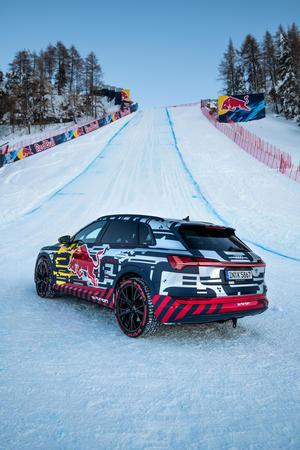 Audi e-tron Technology demonstrator on the Streif