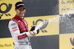 Timo Scheider holt Platz drei für Audi