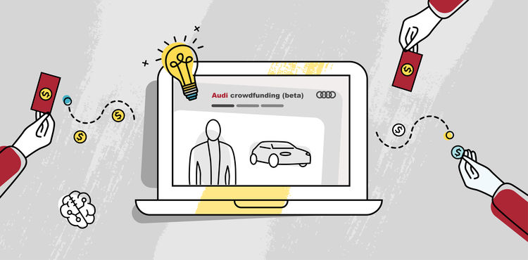 Crowdfunding realisiert innovative Projekte bei Audi