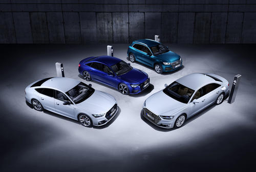 Efficient and Powerful: The New Plug-In Hybrid Models Audi