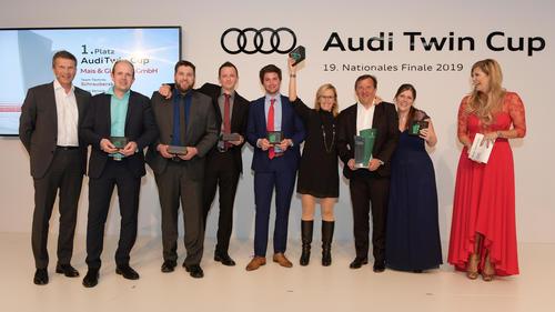 Audi Twin Cup: Autohaus Mais & Glandien GmbH gewinnt die deutsche Servicemeisterschaft 2019
