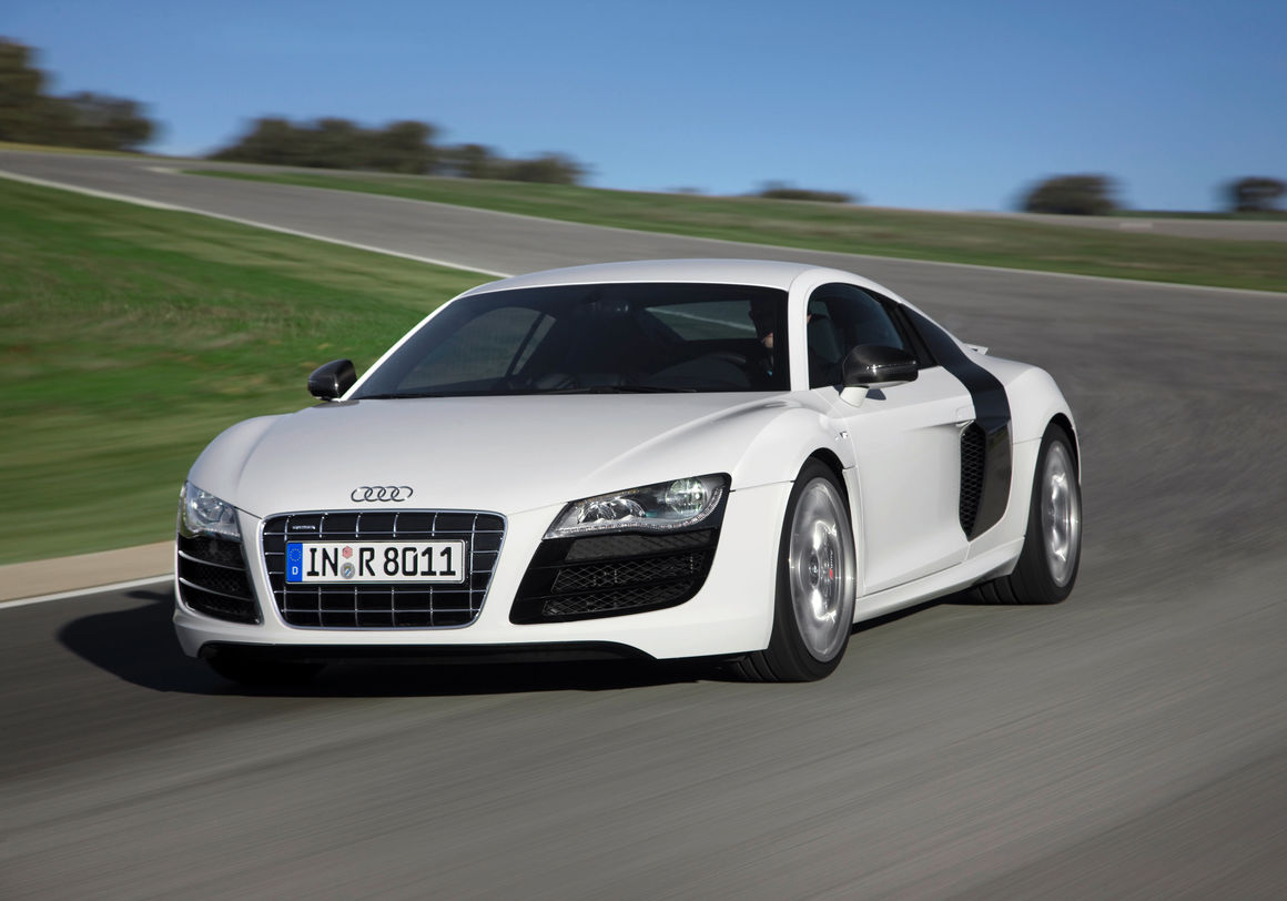The first generation 2008/2009: the Audi R8 5.2 FSI quattro
