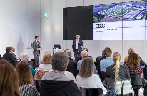 Anwohnerveranstaltung bei Audi Neuburg