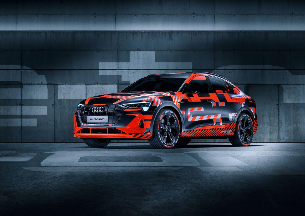 Audi e-tron Sportback Prototyp