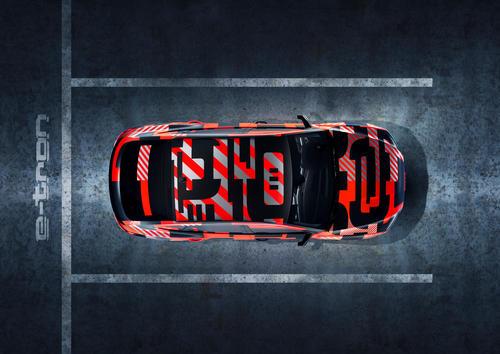Audi e-tron Sportback prototype