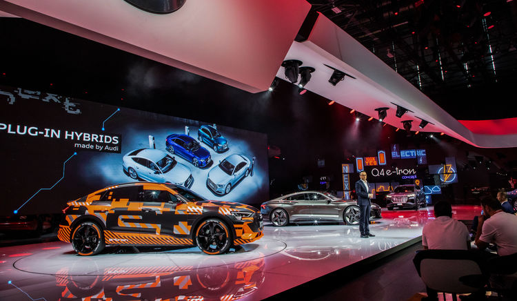 Audi at the Geneva International Motor Show 2019