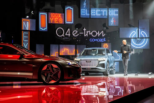 Audi auf dem Internationalen Genfer Automobilsalon 2019