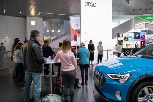 """Presentation of the program of the Audi Summer Concerts 2019 in the Audi museum mobile"""""""