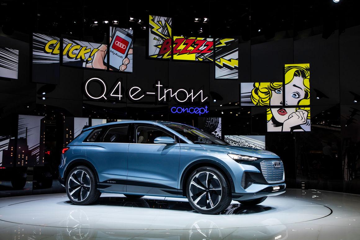 Audi auf dem Internationalen Genfer Automobilsalon 2019