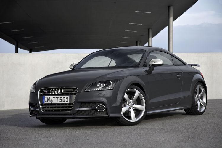 Audi TTS Coupé competition