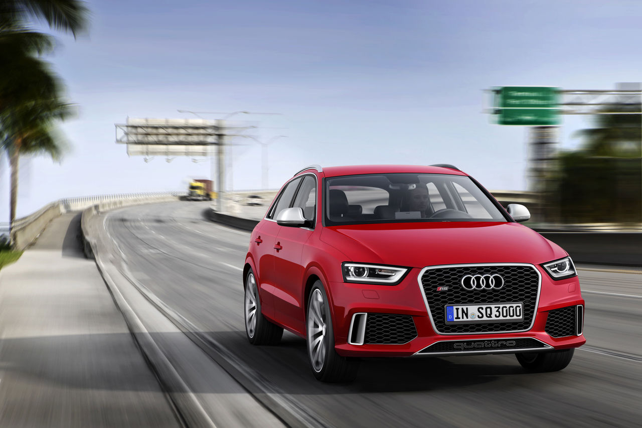 First Rs Model In The Q Series Audi Rs Q3 Audi Mediacenter